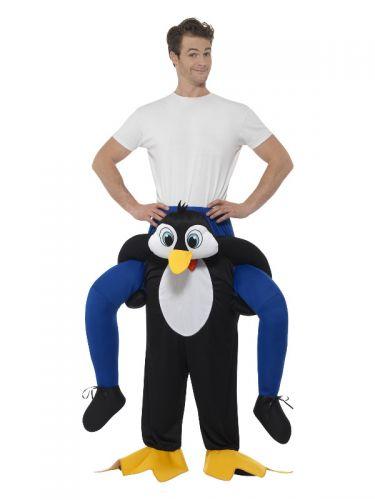 Piggyback Penguin Costume, Black