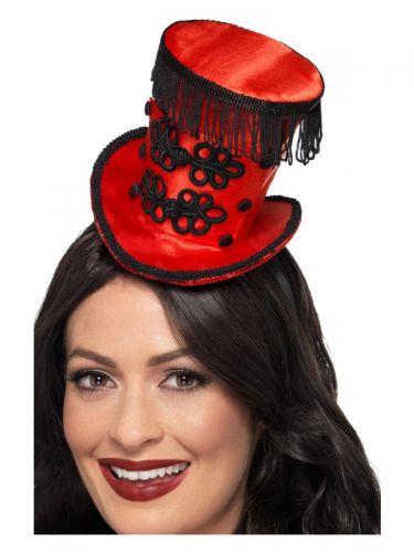 Ring Master Mini Hat, Red