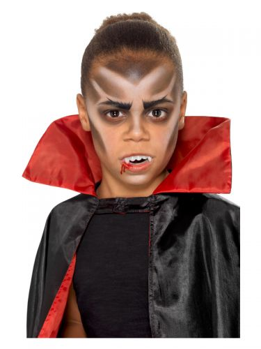 Smiffys Make-Up FX, Kids Vampire Kit, Aqua, Multi-