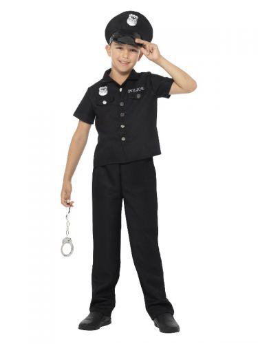 New York Cop Costume, Black