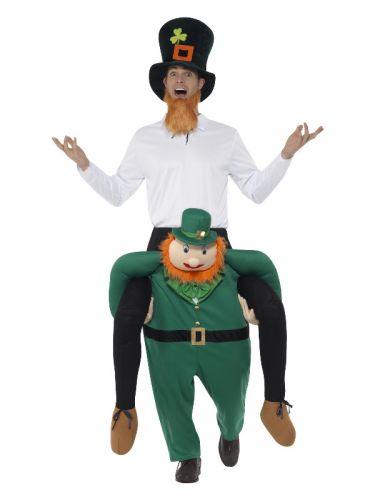 Piggyback Paddy's Leprechaun Costume, Green