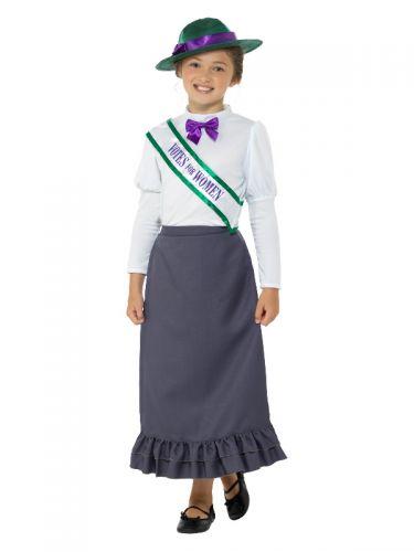 Victorian Suffragette Costume, Grey