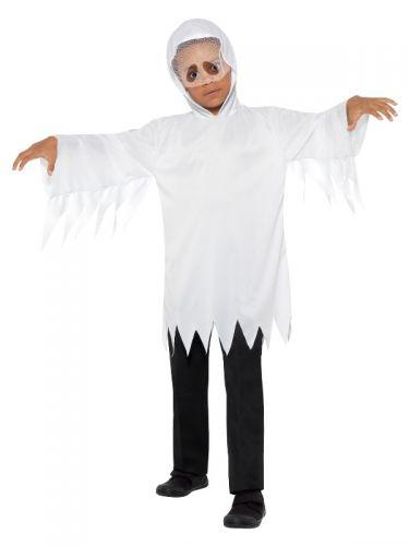 Ghost Costume, White