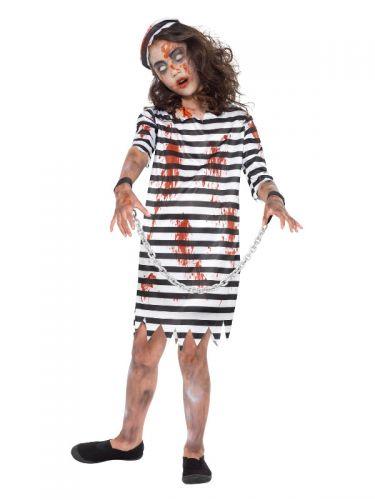 Zombie Convict Girl, Black & White