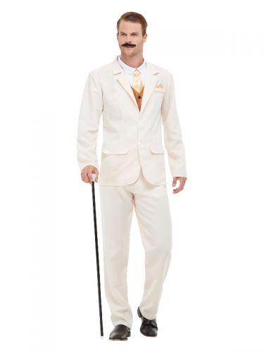 Roaring 20s Gent Costume, White