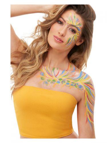 Smiffys Make-Up FX, Rainbow Festival Kit,
