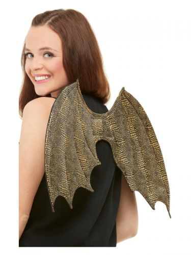 Dragon Scale Wings, Gold
