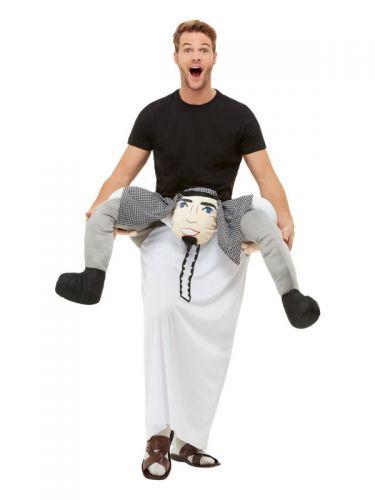 Piggyback Sheikh Costume, Black