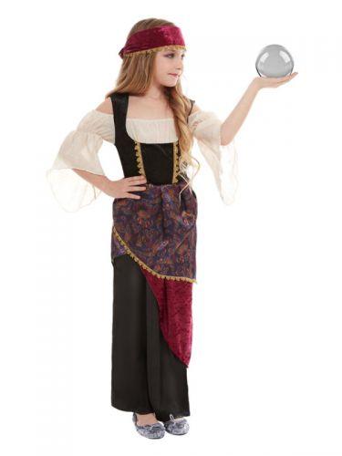 Deluxe Fortune Teller Costume, Multi-Coloured