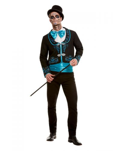 Day Of The Dead Costume, Black