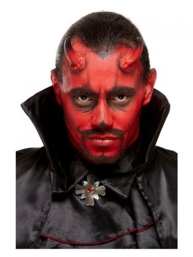 Smiffys Make-Up FX, Devil Kit, Aqua, Red & Black