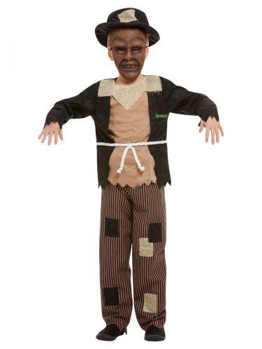 Goosebumps Scarecrow Costume, Brown & Black