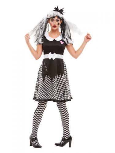 Broken Doll Costume, Black
