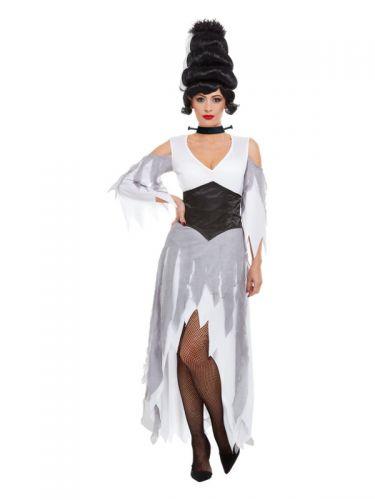 Gothic Bride Costume, White