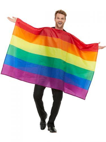Rainbow Flag Costume, Multi-Coloured