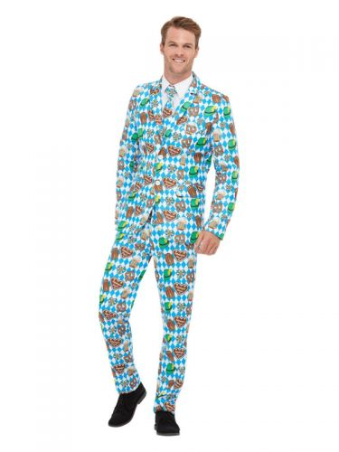 Oktoberfest Suit, Blue