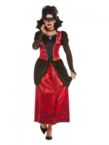 Gothic Vampiress Costume, Black