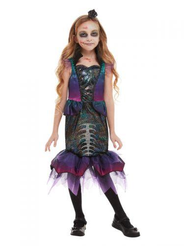 Dark Mermaid Costume, Purple