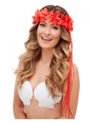 Tropical Hawaiian Headbands, Neon