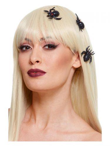 Spider Hair Clips, Black