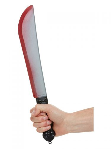 Bloodied Knife Prop, Silver