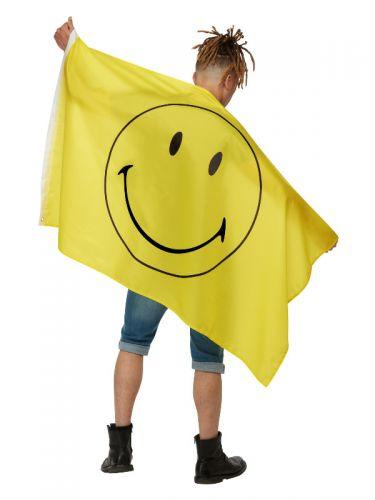 Smiley Large Flag, Yellow