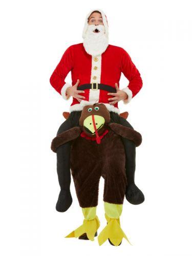 Piggyback Turkey Costume, Red
