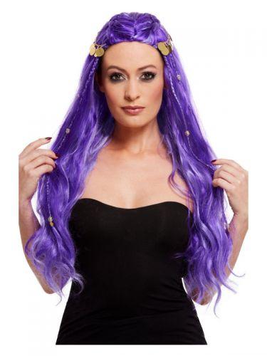 Fortune Teller Wig, Purple