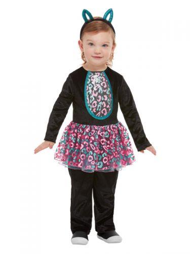 Toddler Cute Cat Costume, Black