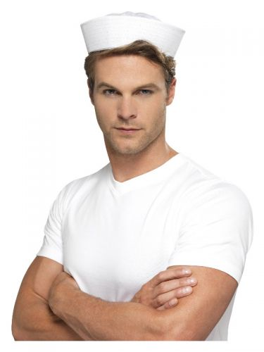 Doughboy US Sailor Hat, White