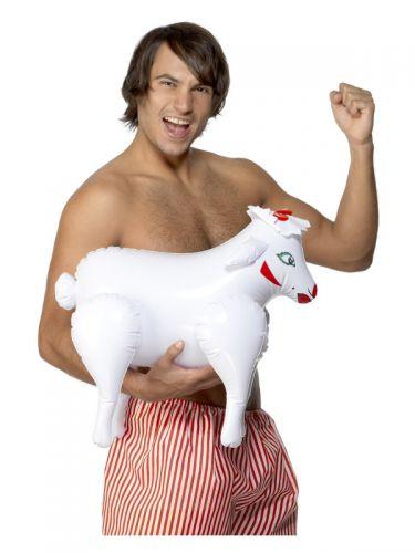 Inflatable Sheep, Bonking Baa Baa, White