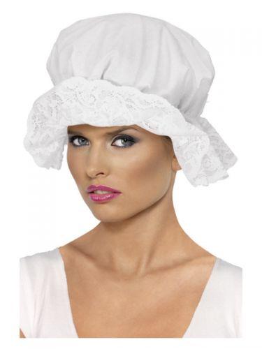 Mop Cap, White
