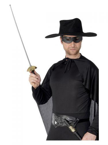 Rapier Sword and Eyemask, Green & Black