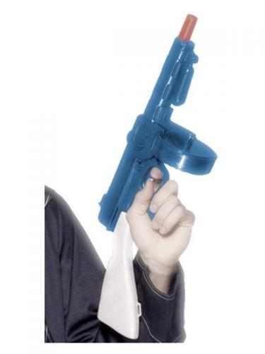 Gangster's Tommy Gun, Blue
