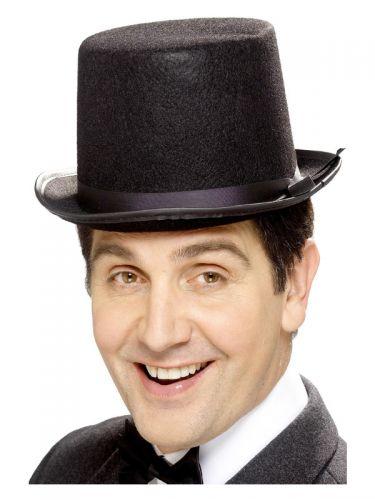 Topper Hat, Black