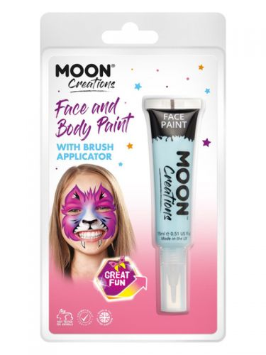 Moon Creations Face & Body Paints, Light Blue