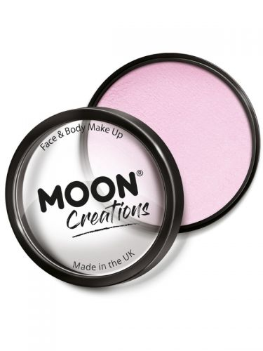 Moon Creations Pro Face Paint Cake Pot, Light Pink