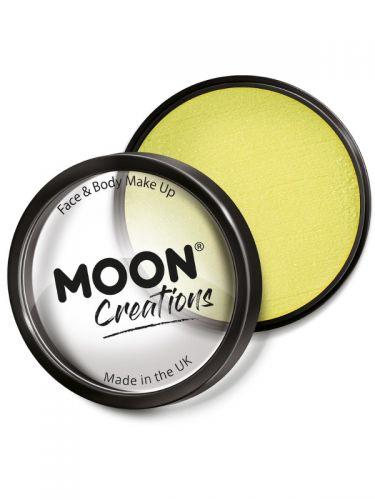 Moon Creations Pro Face Paint Cake Pot, Yellow