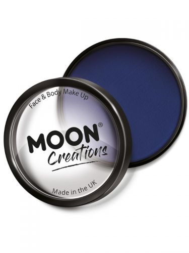 Moon Creations Pro Face Paint Cake Pot, Dark Blue