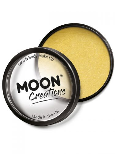 Moon Creations Pro Face Paint Cake Pot, Sand