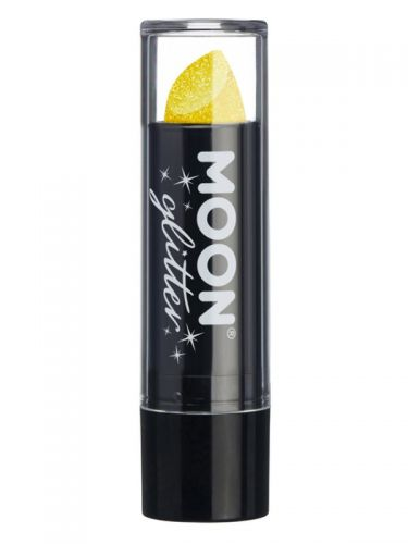 Moon Glitter Iridescent Glitter Lipstick, Yellow