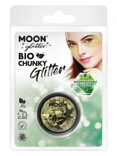 Moon Glitter Bio Chunky Glitter, Gold