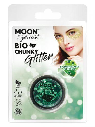 Moon Glitter Bio Chunky Glitter, Green