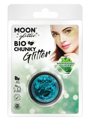 Moon Glitter Bio Chunky Glitter, Blue