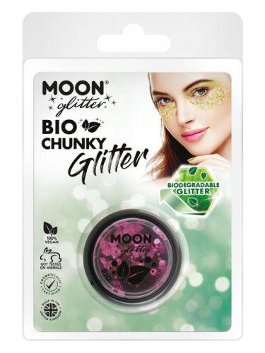 Moon Glitter Bio Chunky Glitter, Rose