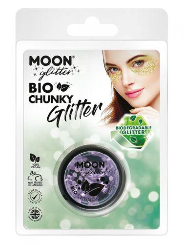Moon Glitter Bio Chunky Glitter, Lilac