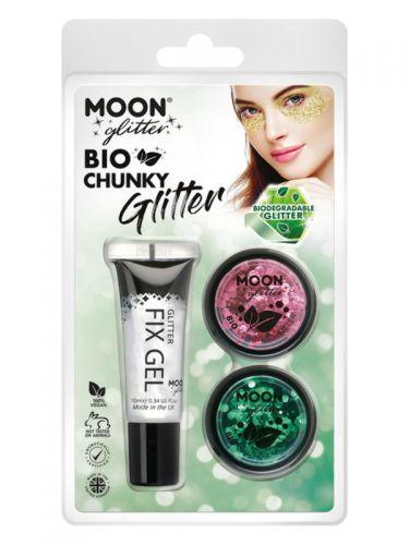Moon Glitter Bio Chunky Glitter,