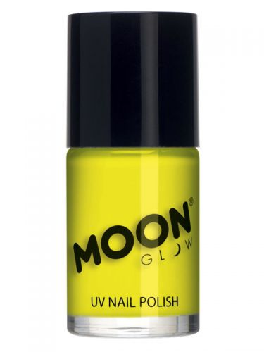 Moon Glow Intense Neon UV Nail Polish, Neon Yellow