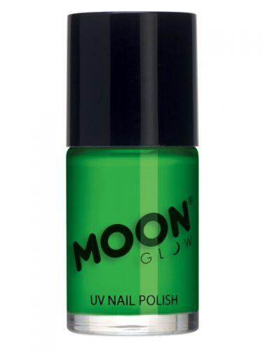 Moon Glow Intense Neon UV Nail Polish, Neon Green