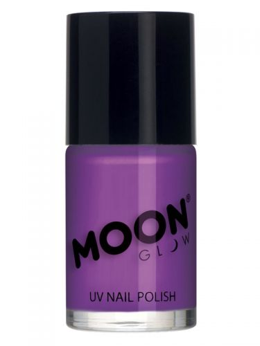 Moon Glow Intense Neon UV Nail Polish, Neon Purple